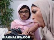 Mia Khalifa - Art imitating life with Julianna Vega and Sean Lawless