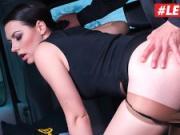 LETSDOEIT - Russian Babe Sarah Cums Hard In a Czech Taxi