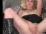 Blonde Theresa Masturbating