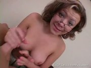 hot ex girlfriend handjob