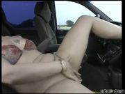 Roadside masturbation (clip)