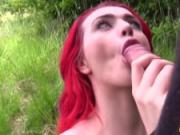 Fake Cop Busty Jasmine James Fucked outdoors by a policeman