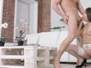 18videoz - First date anal in stockings