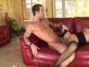 Slender cougar Linda receives an anal pounding
