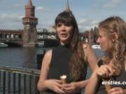 US College Girls getting naughty in Europe! :