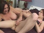 Lesbian hotties meets MILF