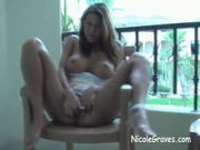 Nicole Spread Her Pussy