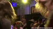 Shy amateur girls sucking cock in the disco