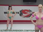 Dirty Girl Gets Fucked On The Mat