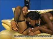 Ebony Lesbians Licking Pussy And Toes