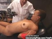 Ancient Alien Oral Slut Tied Up and Zapped!