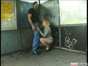 Hottie gets a ride she can count on