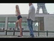 Public sex by Eiffel Tower