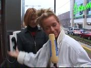 Pretty girl off the street masturbates - DBM Video