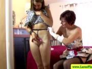 British mature in stockings lesbian love