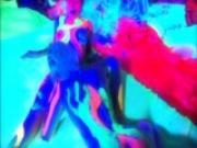 Gen Padova and Lain Oi in UV bodypaint - Mavenhouse