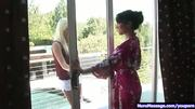 Asa Akira in lesbo nuru massage p.1