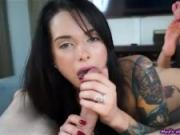 Maria Marley giving great blowjob