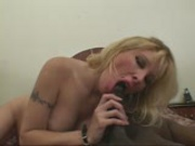 Blonde honey gets creamy load