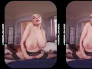 Tattooed VR glamour babe Kayla Green rides your hard dick in immersive POV