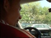 Giving head in the back seat - DBM Video