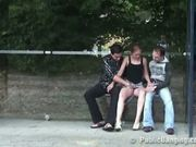 Bus Stop Threesome