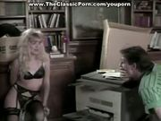 Blondie fucked hard in bed