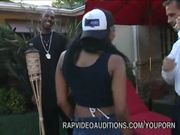 Ebony Girl Wants To Be In Rap Video