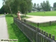 Hanka - Sweet blonde enjoys the summer