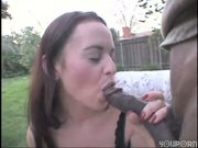 Austrailan chick gets the chocolate stick
