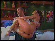Bikini Pussy Flash on Spanish TV Show