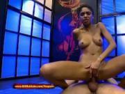 Luna Corazon the ebony Pissing Lover - 666Bukkake