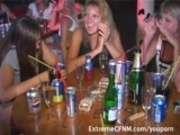 Girls night out they end up fucking and suck dick