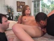 April Brookes Loves To Watch Her BF Swallow