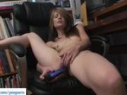 Sensi Pearl Masturbates And Squirts