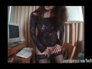French Canadian MILF Fucked and Cum in Her Mouth!