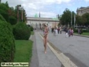 Lucie - Hot Public Nudity With Horny Blonde Babe