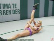 Spartan nude wrestling!