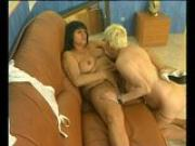 Two mature lesbians and their hairy pussies - Julia Reaves