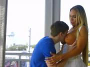 Reality Kings - Banging the hot milf and cumming on her tits