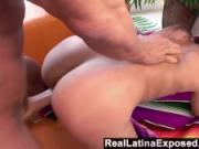 RealLatinaExposed - Tropical latina really knows how to coax a load