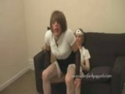 TGirl Zoe's nurse takes REAL good care of her