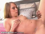 Teen Amateur Fucked by Older BBC and Takes Jizz in Mouth