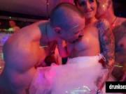 Hot pornstars banging hard at a sex party
