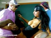 My Dirty Hobby - Slutty teacher gets DP