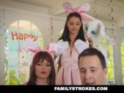 FamilyStrokes - Cute Teen Fucked By Easter Bunny Step Uncle