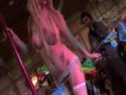 Latina stripper with an impressive magic trick - Latin-Hot