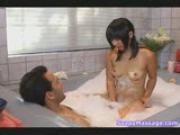 Sayurii gives a soapy massage part 1/2