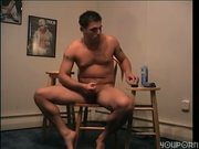 Perfect jerk-off guy (CLIP)