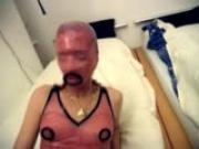 Kinky sex in bondage masks
